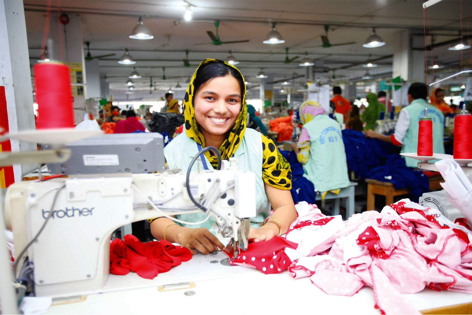 Garment manufaturing in Bangladesh