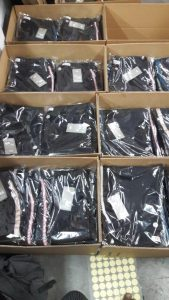 clothes packign & preparation for shipment